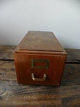 Vintage Holztruhe mit Schubladen von Stolzenberg