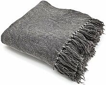 Vintage II Tagesdecke 170 x 130 cm Baumwolle Decke