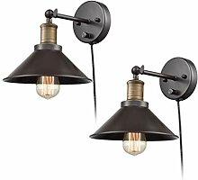 Vintage Industrial Wandlampe Retro Innen
