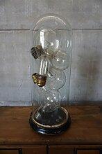 Vintage Industrie Glühbirnen unter Runder