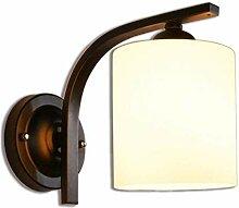 Vintage Industriedesign Lampe Glas Zylindrische