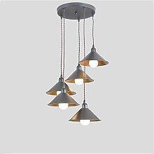 Vintage industriellen Metall Schatten Cluster