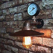 Vintage Industriestil Wandlampe, kreative