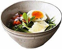 Vintage keramischer Porzellan-Schüssel Salat