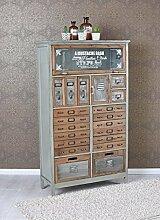 Vintage Kommode Loft Möbel Apothekerschrank