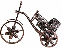 Vintage kreative Dreirad Weinregal Metallregal