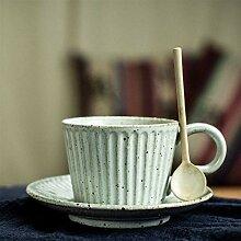 Vintage kreative Kaffeetasse Keramik Porzellan
