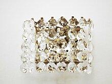 Vintage Kristall Wandleuchte aus Österreich von
