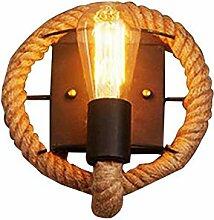 Vintage Kronleuchter Vintage Hanf Seil Licht