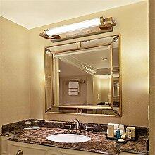 Vintage Kupfer LED Bad WC Spiegel-Leuchte