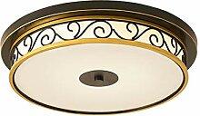 Vintage-Lampe LED Deckenleuchte Antik Glas