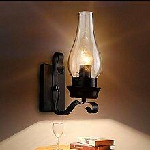 Vintage Lampen WZOED Rustikale Wandleuchte Retro