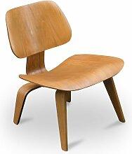 Vintage LCW Eichen Stuhl von Charles & Ray Eames