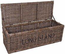 Vintage-Line Korbtruhe Long Island groß