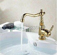 Vintage Messing 360 Grad Rotationbathroom Becken