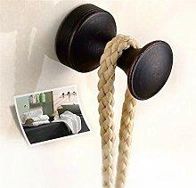 Vintage Messing runde einzelne Wand Kleiderbügel