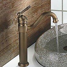 Vintage Messing Waschbecken Wasserhahn Keramik