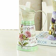 Vintage Metall Blume Eimer/ European-Style Blumenschmuck/Home Dekoration Ideen Blume-A