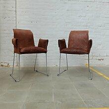Vintage Mexico Chairs von KFF, 2er Set