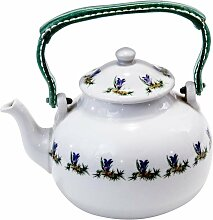 Vintage Pariser Porzellan Teekanne