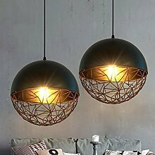 Vintage Pendelleuchte Loft Eisen Metall