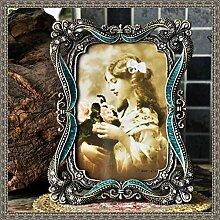 Vintage Photo Frame Antike Grün Gothic European