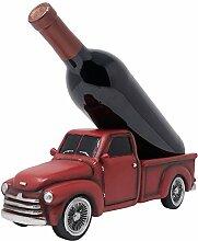 Vintage Pickup Truck Weinflaschenhalter Statue