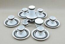 Vintage Porzellan Kaffeeservice Set von Tapio