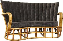 Vintage Rattan & Bambus Sofa
