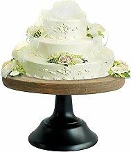 Vintage rund Tortenplatte Kuchenständer,