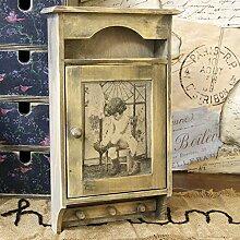 Vintage Schlüsselkasten Landhaus Shabby