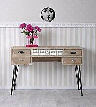 Vintage Schreibtisch Loft Tischkonsole