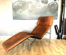 Vintage Sessel aus cognacfarbenem Leder von Tord