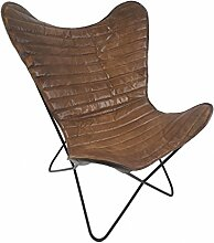 Vintage Sessel Butterfly Loungesessel Leder