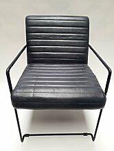 Vintage Sessel Esszimmerstuhl Clubsessel Leder