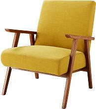 Vintage-Sessel, senfgelb Hermann