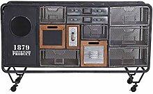Vintage Sideboard Loft Anrichte Schubladenschrank