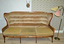 Vintage Sofa mit Wiener Geflecht