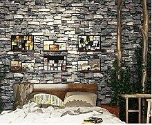 Vintage Stein Pvc Tapete Für Wände Wohnkultur