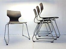 Vintage Stühle von Adam Stegner für Flötotto,