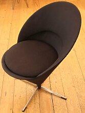 Vintage Stuhl mit kegelförmigem Sitz von Verner