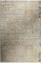 VINTAGE-TEPPICH 120/170 cm Grau, Silberfarben,