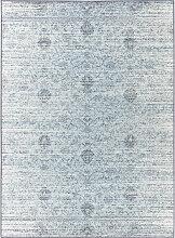 VINTAGE-TEPPICH 125/180 cm Blau, Grau