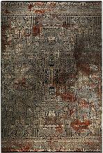 VINTAGE-TEPPICH 133/200 cm Braun, Beige, Rostfarben