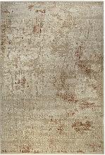 VINTAGE-TEPPICH 133/200 cm Sandfarben, Beige,