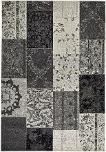 VINTAGE-TEPPICH 155/230 cm Grau