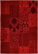 VINTAGE-TEPPICH 155/230 cm Rot