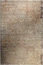 VINTAGE-TEPPICH 160/225 cm Beige, Silberfarben