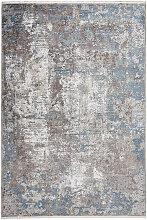 VINTAGE-TEPPICH 160/230 cm Blau
