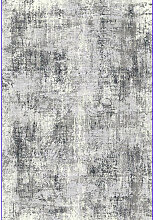 VINTAGE-TEPPICH 160/230 cm Grau, Schwarz